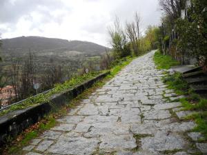 Aufstieg zum Puerto de Béjar